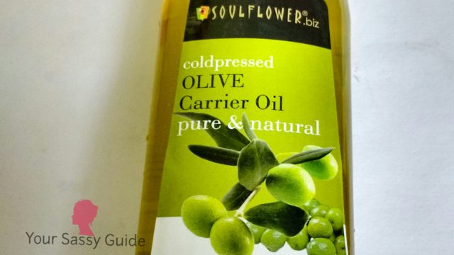 Soulflower Cold Pressed Olive Carrier Oil