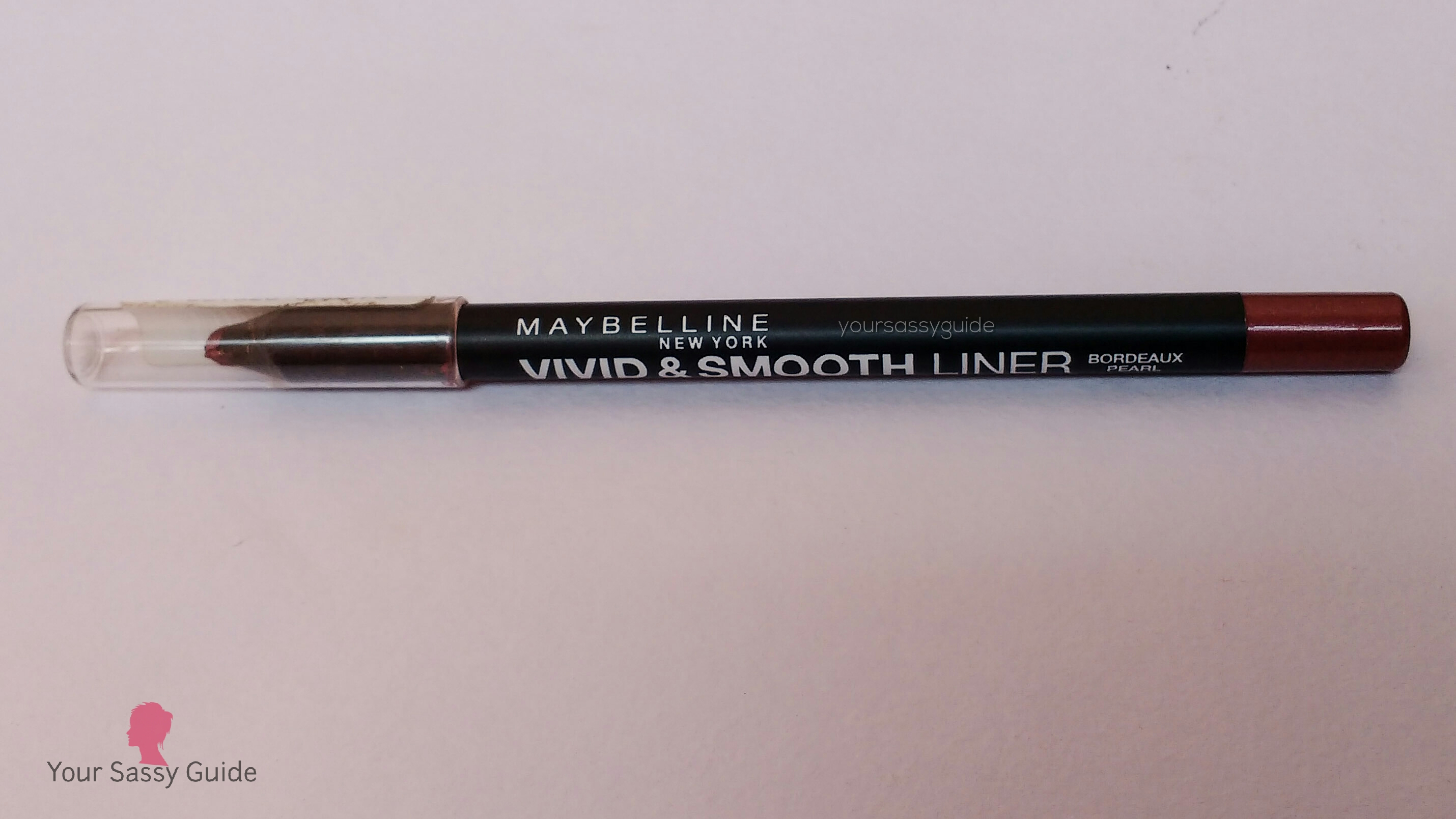 Maybelline Vivid and Smooth Liner by Eyestudio - Bordeaux Pearl