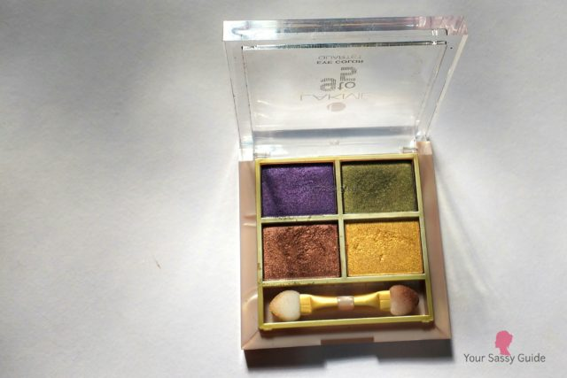 Lakme 9 to 5 Eye Quartet Eyeshadow Tanjore Rush