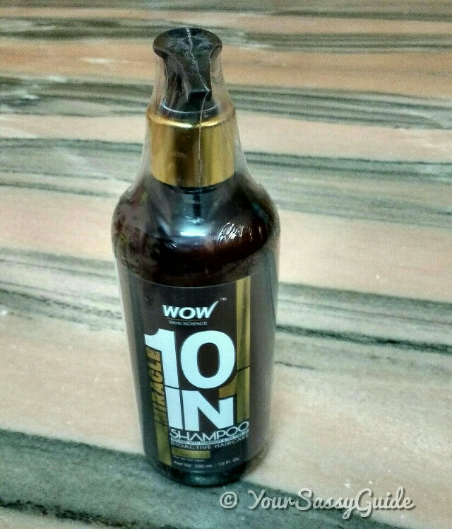 WOW Organics Miracle 10 in 1 Shampoo