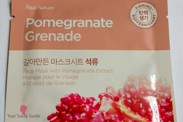 The Face Shop Real Nature Pomegranate Grenade