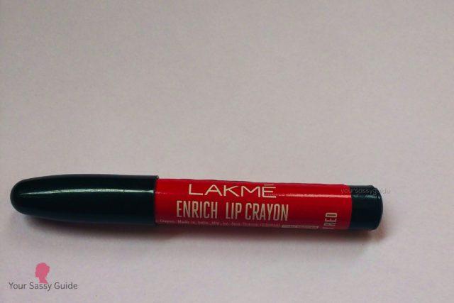 Lakme Enrich Crayon 01 Berry Red