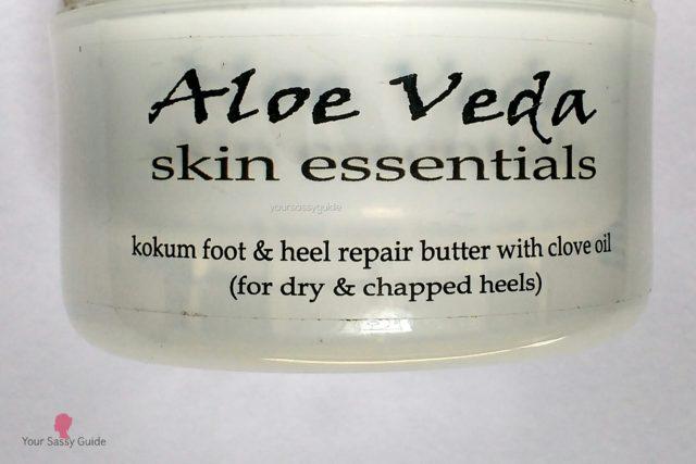 Aloe Veda Foot Cream for Cracked Heels