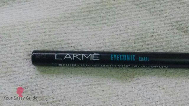 Lakme Eyeconic Deep Black Kajal