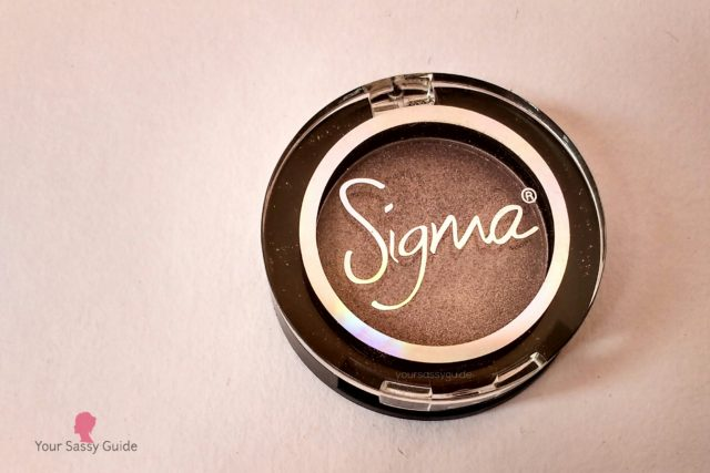 Sigma Eyeshadow Notre Dame
