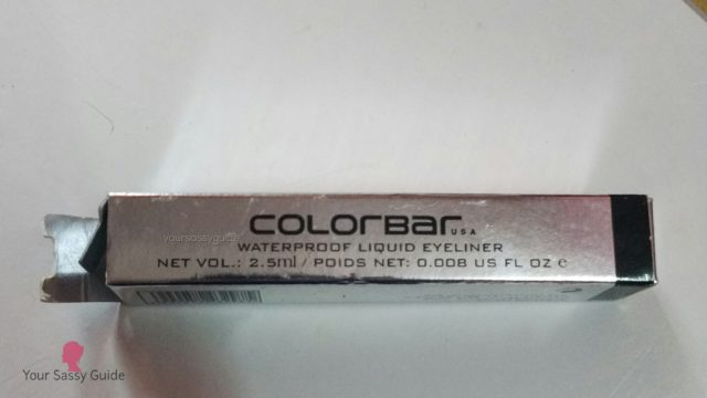 Colorbar Precision Waterproof Liquid Eyeliner