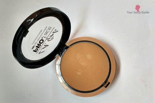 LA Girl Pro Face HD Matte Pressed Powder Warm Caramel
