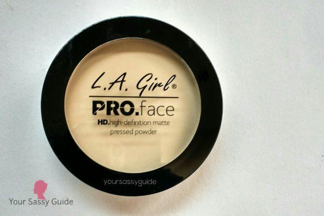 LA Girl Pro Face HD Matte Pressed Powder Classic Ivory