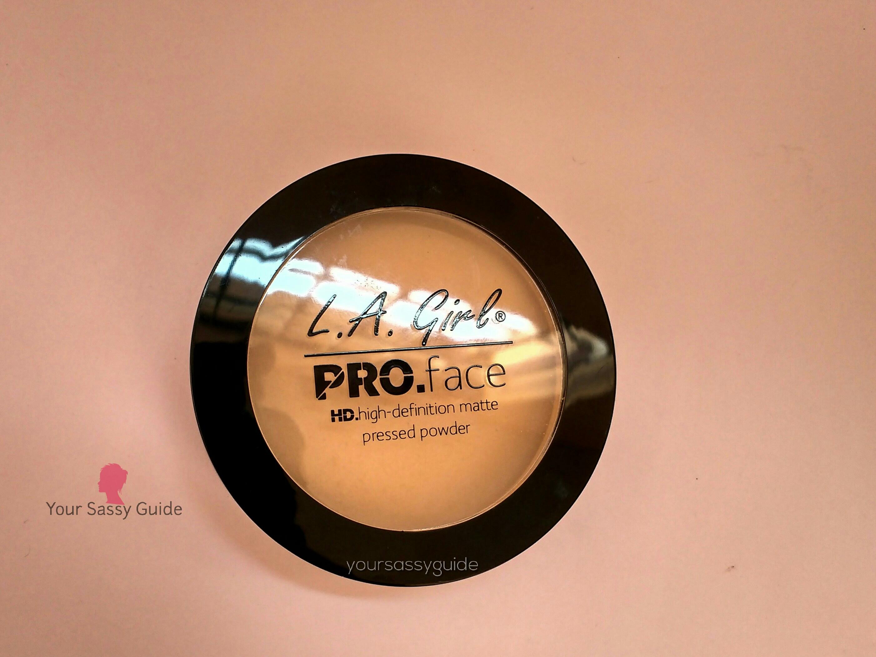LA Girl Pro Face HD Matte Pressed Powder Creamy Natural