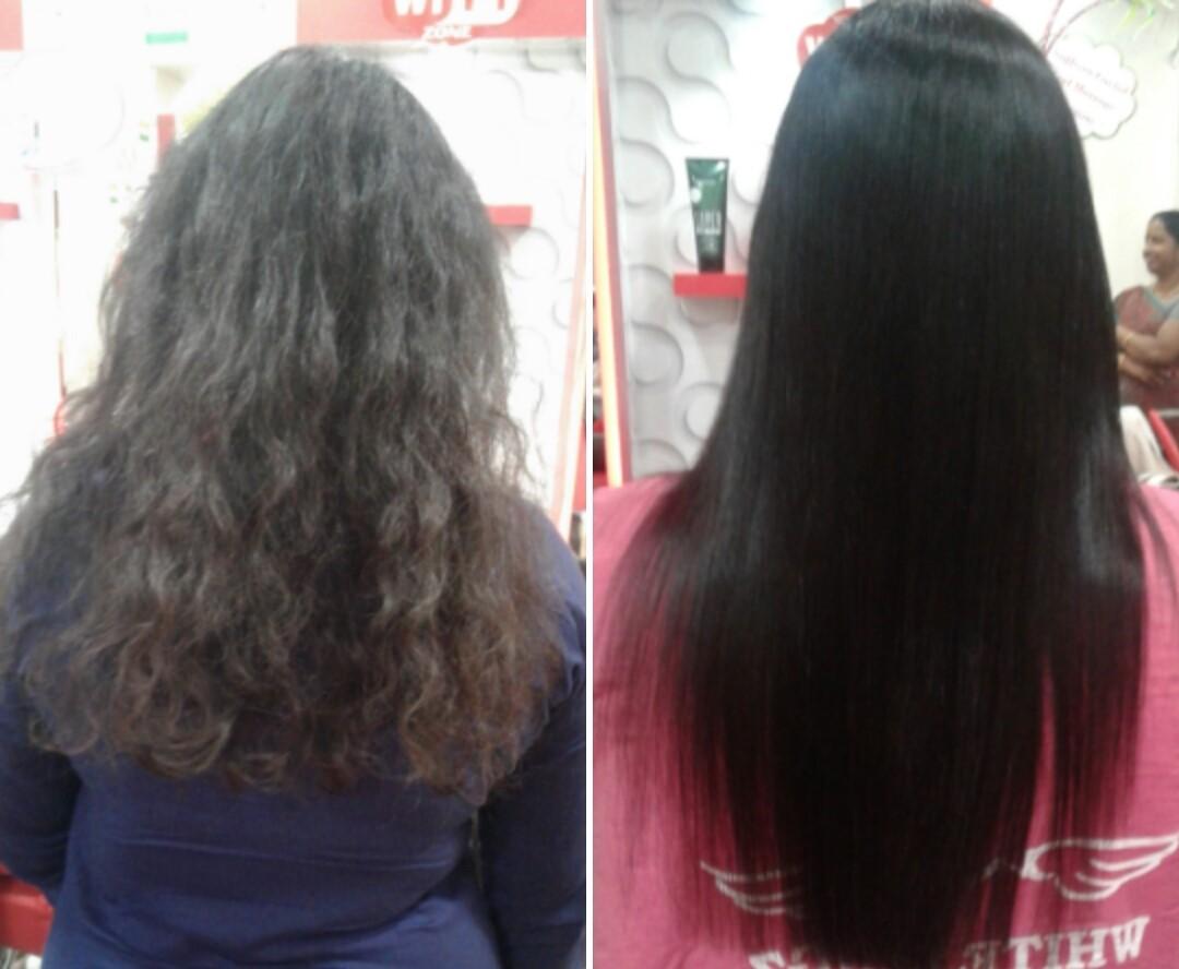 Hair Smoothening