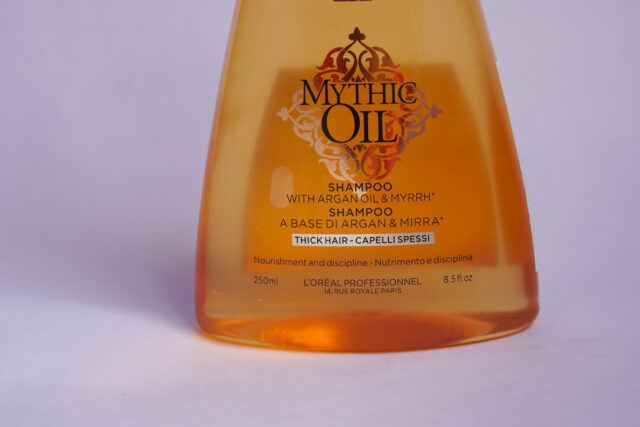 L'Oreal Professionnel Mythic Oil Shampoo Review