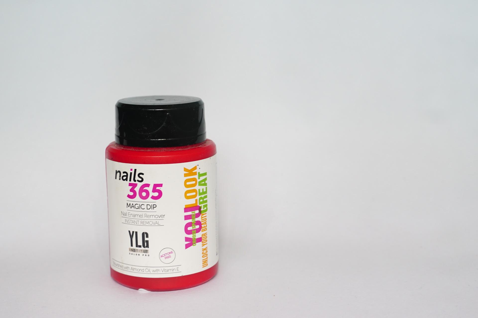 YLG Nails 365 Magic Dip Nail Enamel Remover